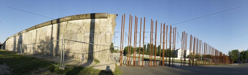Deutschland  Berlin  Gedenkstaette Berliner Mauer  Reste der Berliner Mauer