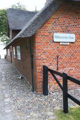 Museum altfriesisches Haus  Keitum  Sylt  nordfriesische Inseln