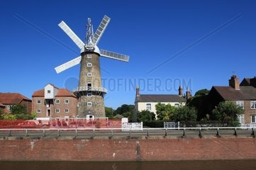 UK  England  Lincolnshire  Boston  Maud Foster Mill