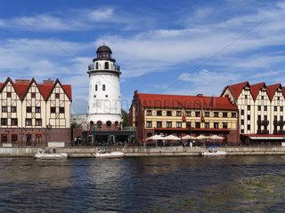 Fischerdorf in Kaliningrad  Koenigsberg