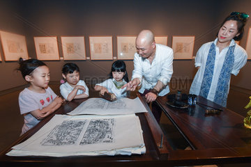 CHINA-ZHEJIANG-WOODBLOCK PRINTING-EXHIBITION (CN)