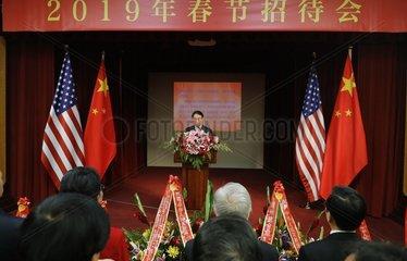 U.S.-SAN FRANCISCO-CHINESE NEW YEAR-RECEPTION