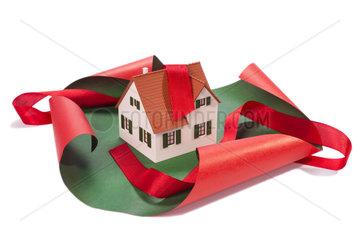 Haus als Geschenk