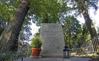 Berlin  Grab von Heinrich von Kleist