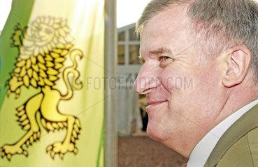 Horst Seehofer  CSU  CSU-Fahne  2004