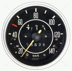 alter Tachometer  1969