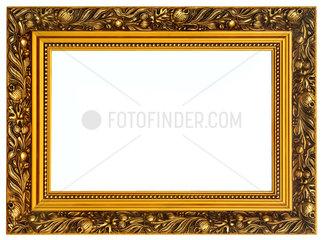 goldener Bilderrahmen aus Holz