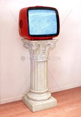 Fernseher als Denkmal