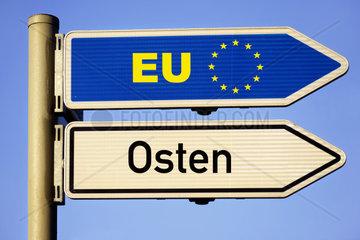 Wegweiser EU und Osten  EU-Osterweiterung