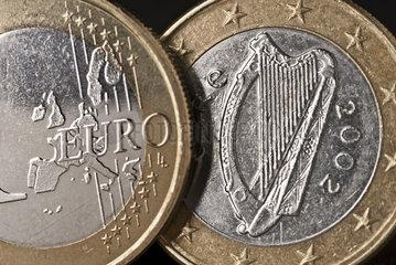 Irische Euro Muenze