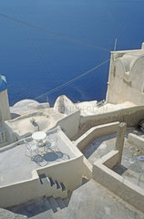 Santorin  Kykladen  Griechenland