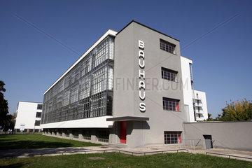 D-Sachsen-Anhalt: Dessau  Bauhaus  Hauptgebaeude
