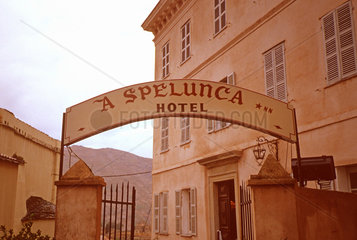 Frankreich  Korsika  Hotel die Spelunke