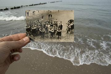 Ostsee - Vergleich mit einem historischen Foto