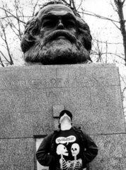 Grab von Karl Marx