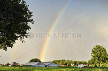 Rainbow in Hamburg  Germany