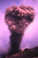 Italien  Sizilien  Stromboli  Vulkanausbruch