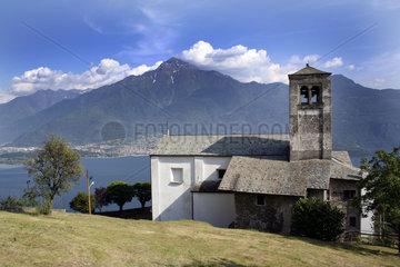 Dorfkirche am Comer See   Lago di Como
