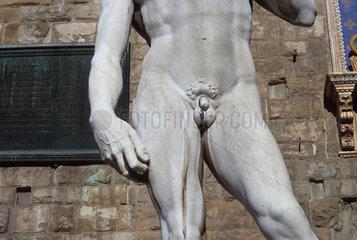 Italien  Florenz  Dom Santa Maria del Fiore Skulptur  David