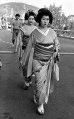 Japan  Tokio  2 Geishas  1987
