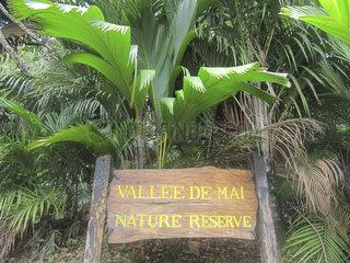 Seychellen  Praslin Vallée de Mai Nationalpark