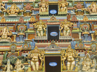 Seychellen  Mahé Hindusitischer Tempel in Victoria
