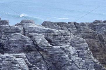 New Zealand South Island Westcoast West coast Pancake Rocks