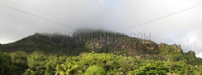 Seychellen  Berge in Mahé