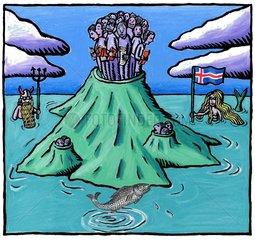 Grosse Dichte an Dichtern auf Island