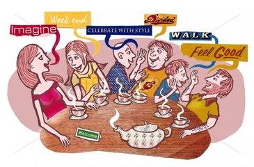 Teaparty zum Englisch Lernen