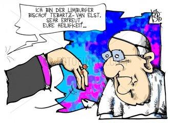 Tebartz- van Elst beim Papst