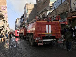 AFGHANISTAN-KABUL-MARKET-FIRE