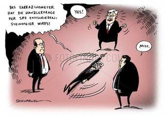 Sarrazin Kanzlerfrage SPD Steinmeier
