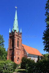St.Nikolai Kirche in Hamburg Moorfleet
