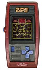 Armor Battle  fruehes Handheld Game von Mattel  1978