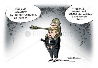 Russland gefaehrdet Friedensordnung