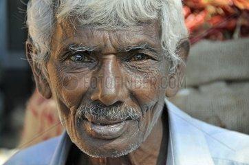 Alter Mann  Sri Lanka  Ceylon  Suedasien  Asien