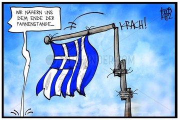Griechenlands Ende der Fahnenstange