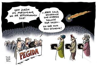 Pegida : Merkel verurteilt Anti-Islam-Bewegung