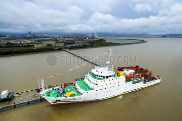 CHINA-ZHEJIANG-49TH OCEAN EXPEDITION-COMPLETION (CN)
