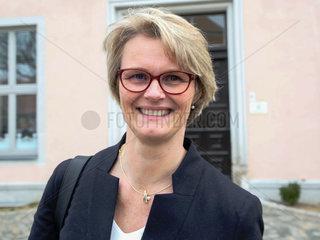 Bundesministerin fuer Bildung und Forschung Anja Karliczek (CDU) besucht Grundschule in Moeckern am 21.01.2019