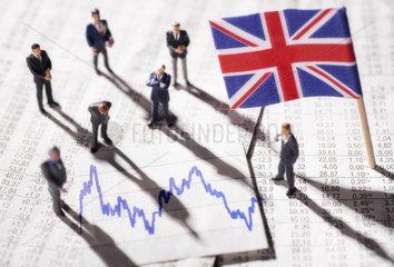 Entwicklung der Wirtschaft in Grossbritannien