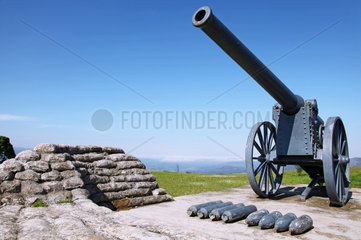 Kanonen namens Long Tom auf dem Long Tom Pass  S__dafrika  cannons at Long Tom Pass  South Africa