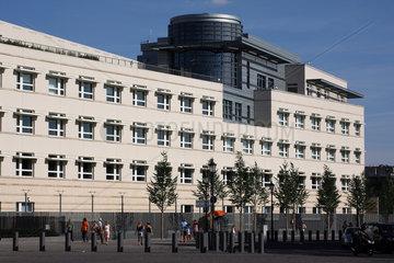 Berlin  Deutschland  die Botschaft der Vereinigten Staaten