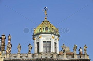 La Maison des Boulangers  Roi dÂ'Espagne  Zunfthaus der Baecker am Grote Markt  Grand Place  Bruessel  Belgien  Europa