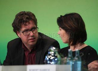 Michael Kellner und Annalena Baerbock