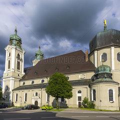 Stadtpfarrkirche St. Peter und Paul in Lindenberg im Allgaeu