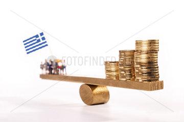 Geld fuer Griechenland