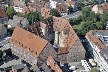 Neuer Bau  Sitz der Polizeidirektion  Ulm  Baden-Wuerttemberg  Deutschland  Europa