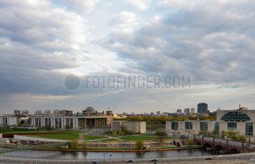 Berlin  Deutschland  Blick ueber den Europaplatz